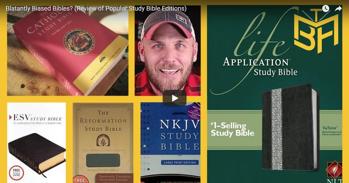 Video Screenshot - Blatantly Biased Bibles